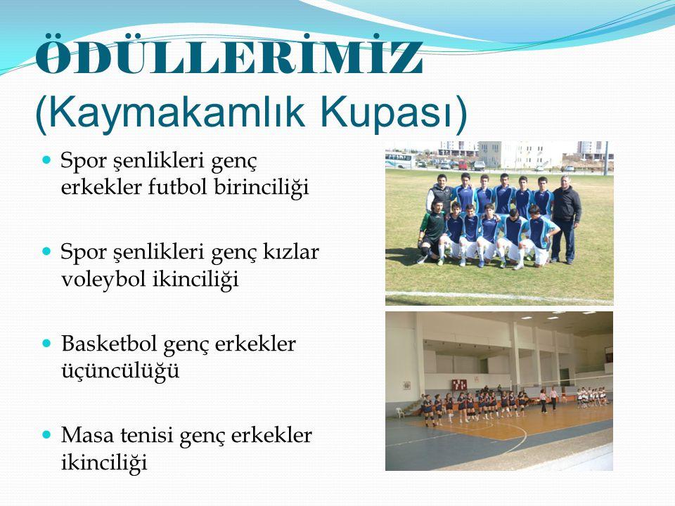 ÖDÜLLERİMİZ (Kaymakamlık Kupası)