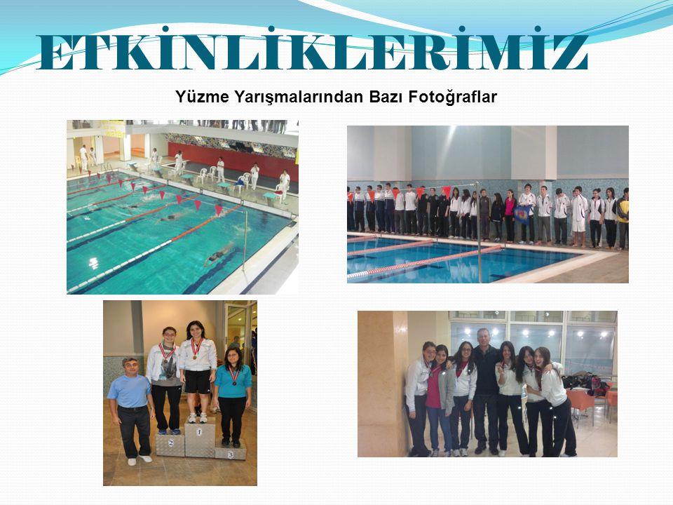 Yüzme Yarışmalarından Bazı Fotoğraflar