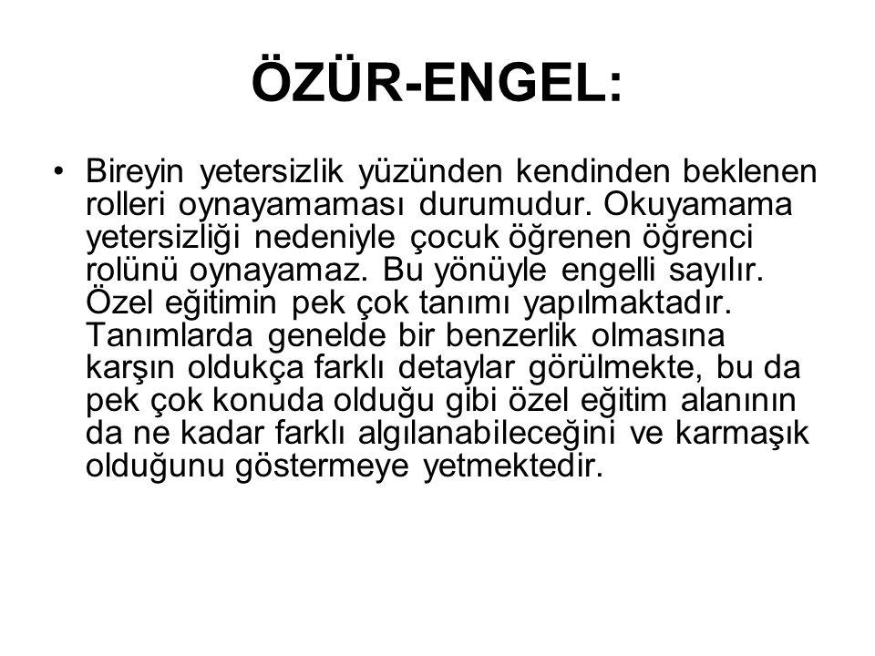 ÖZÜR-ENGEL:
