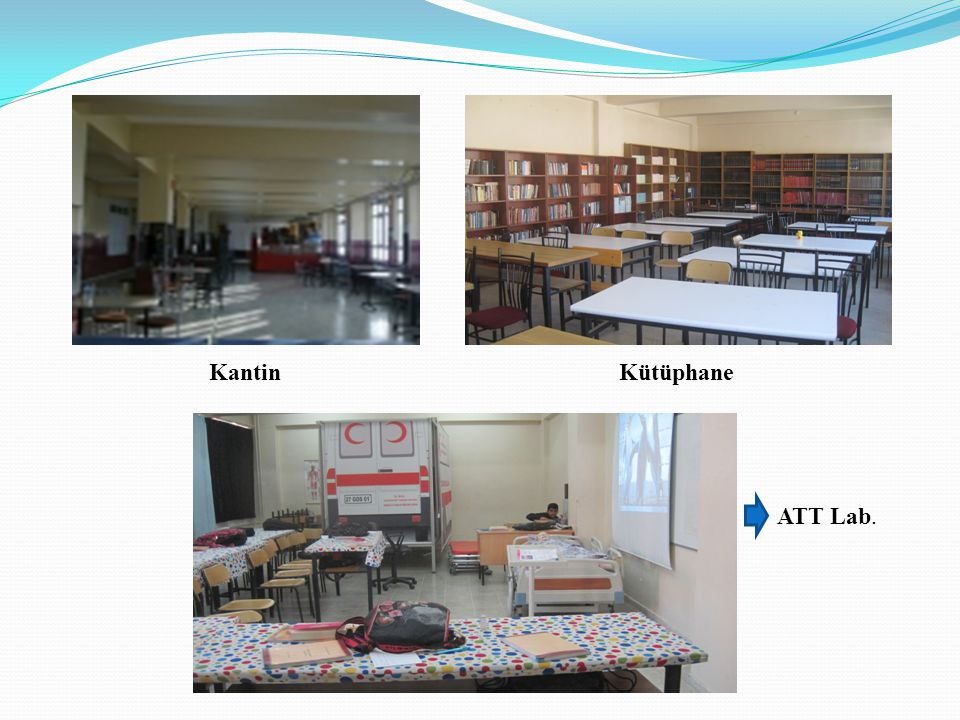 Kantin Kütüphane ATT Lab.