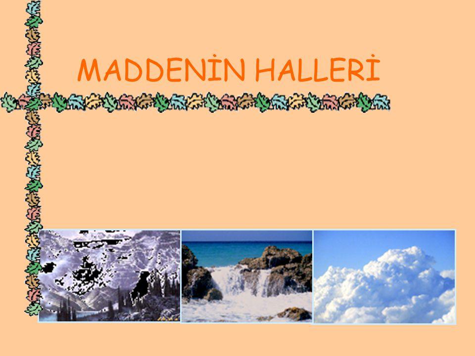 MADDENİN HALLERİ MADDENİN HALLERİ www.hazirslayt.com 2