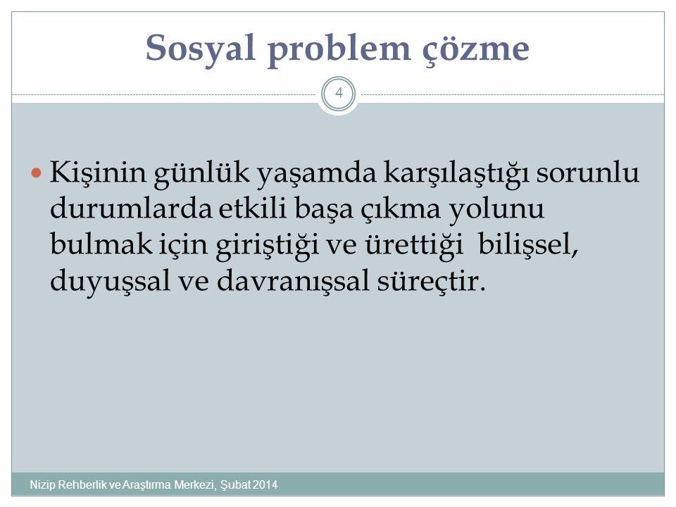 Sosyal problem çözme