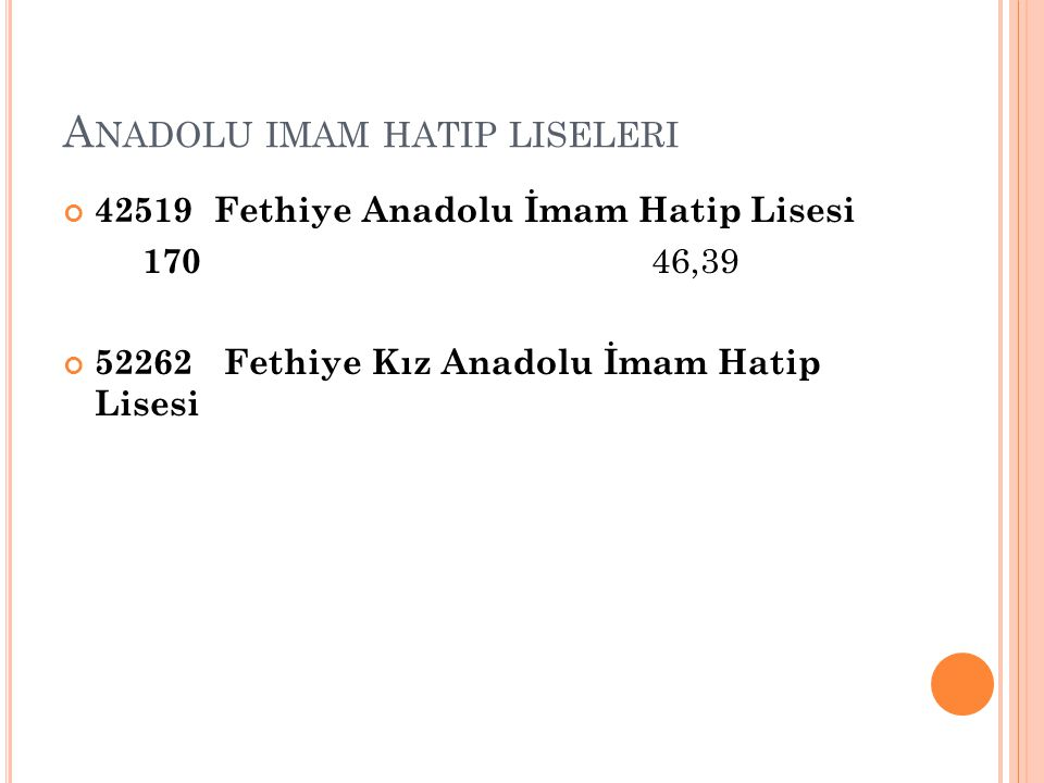 Anadolu imam hatip liseleri