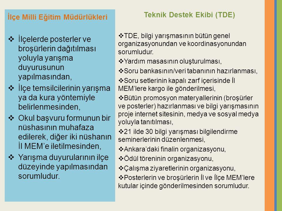 Teknik Destek Ekibi (TDE)