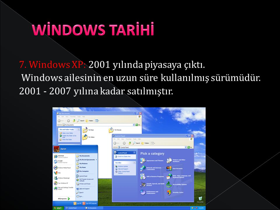 WİNDOWS TARİHİ