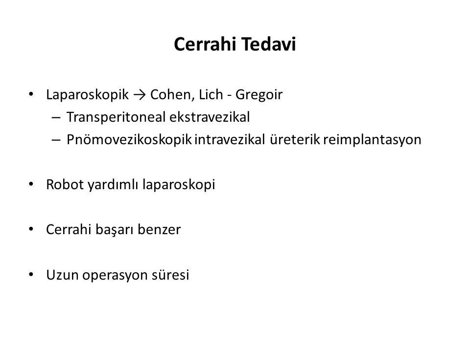 Cerrahi Tedavi Laparoskopik → Cohen, Lich - Gregoir
