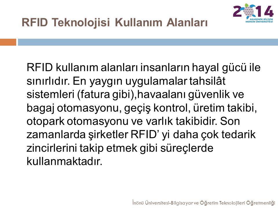 RFID Teknolojisi Kullanım Alanları