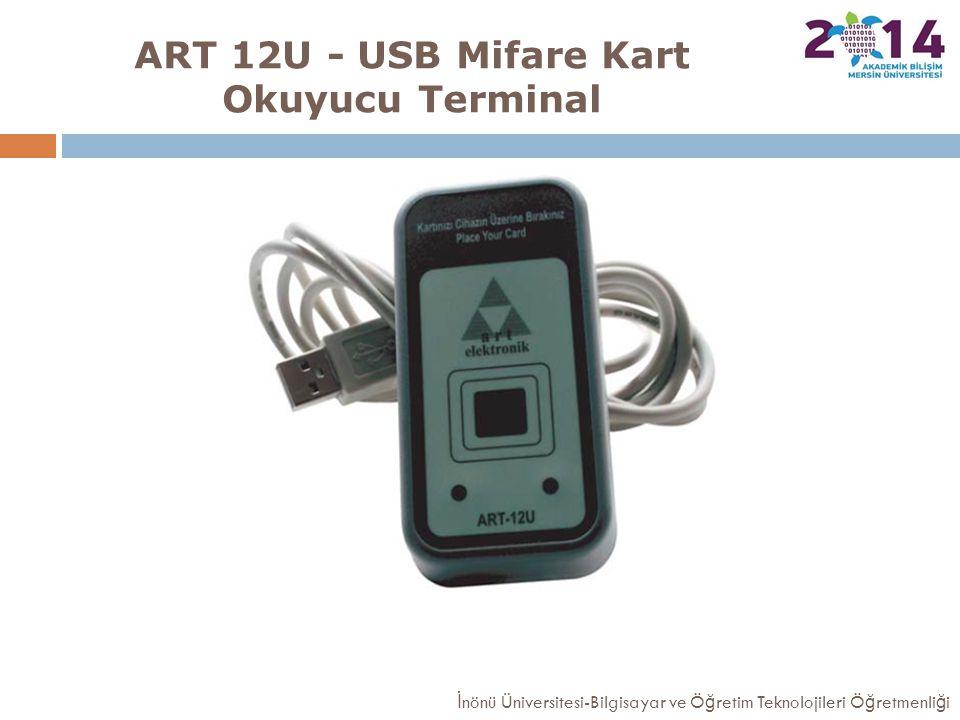 ART 12U - USB Mifare Kart Okuyucu Terminal