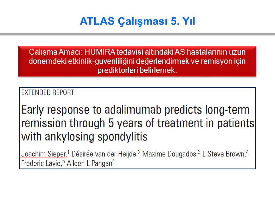 ATLAS Çalışması 5. Yıl