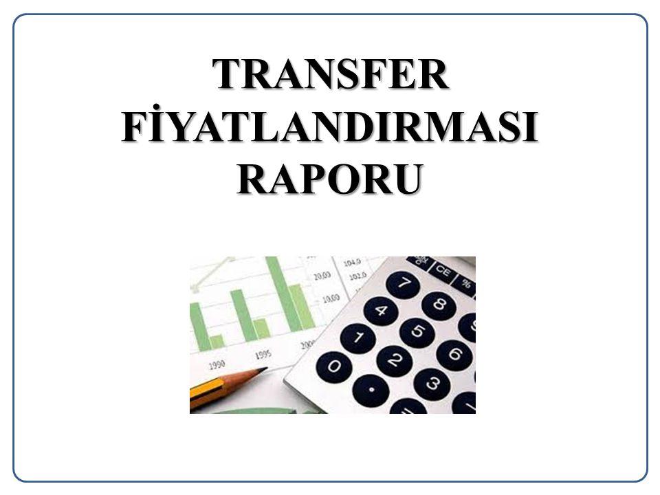TRANSFER FİYATLANDIRMASI RAPORU