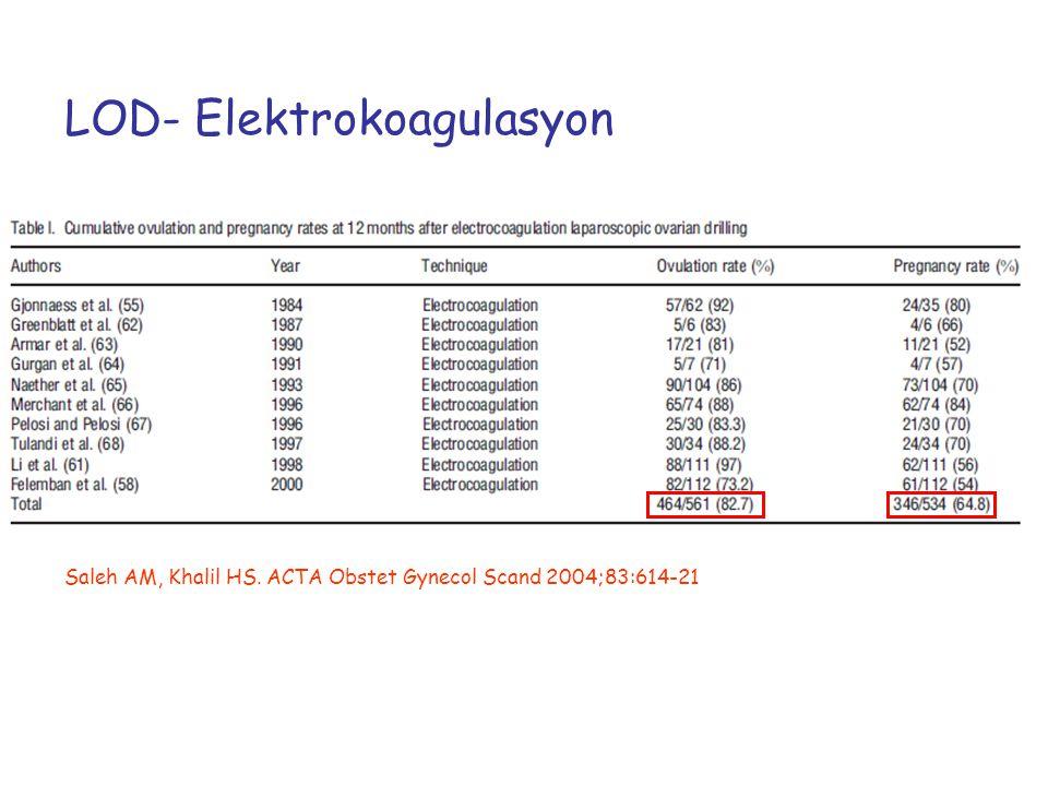 LOD- Elektrokoagulasyon
