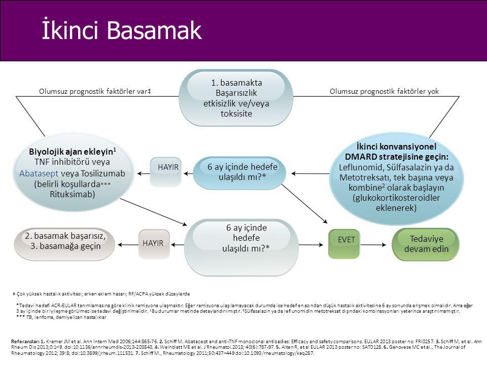 DMARD stratejisine geçin: Biyolojik ajan ekleyin1