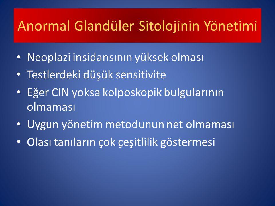 Anormal Glandüler Sitolojinin Yönetimi