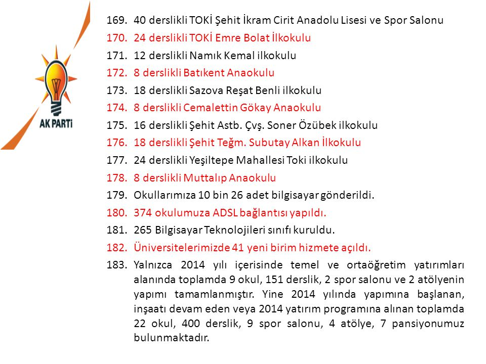 40 derslikli TOKİ Şehit İkram Cirit Anadolu Lisesi ve Spor Salonu