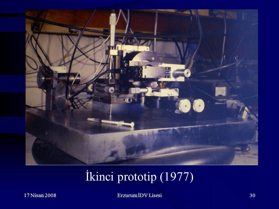 İkinci prototip (1977) 17 Nisan 2008 Erzurum İDV Lisesi