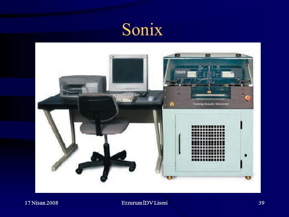 Sonix 17 Nisan 2008 Erzurum İDV Lisesi