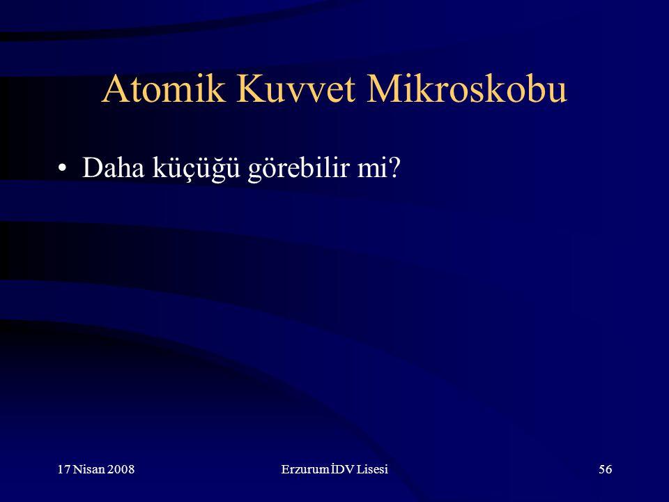 Atomik Kuvvet Mikroskobu