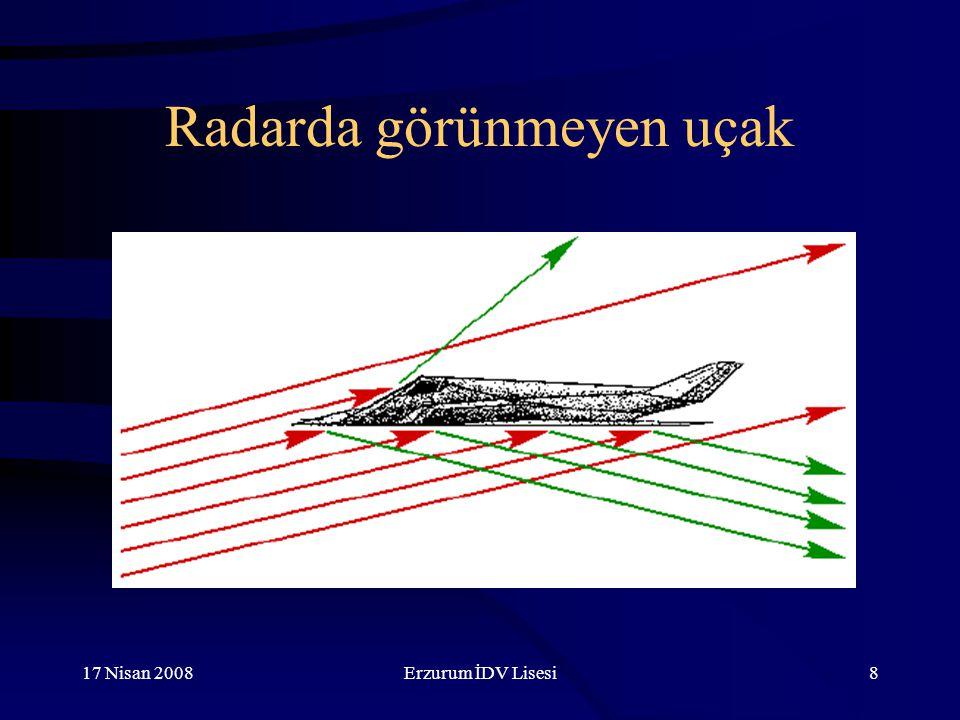 Radarda görünmeyen uçak