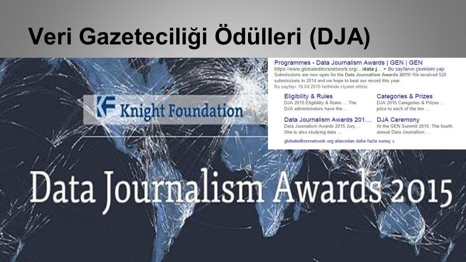 Veri Gazeteciliği Ödülleri (DJA)