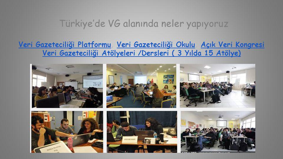 Türkiye'de VG alanında neler yapıyoruz