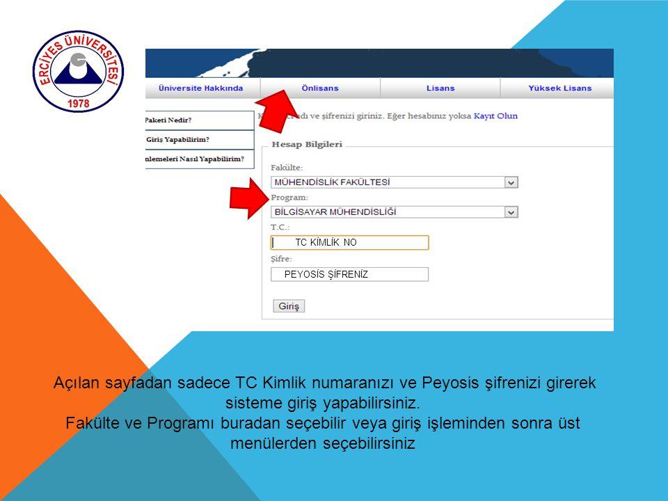 TC KİMLİK NO PEYOSİS ŞİFRENİZ. Açılan sayfadan sadece TC Kimlik numaranızı ve Peyosis şifrenizi girerek sisteme giriş yapabilirsiniz.