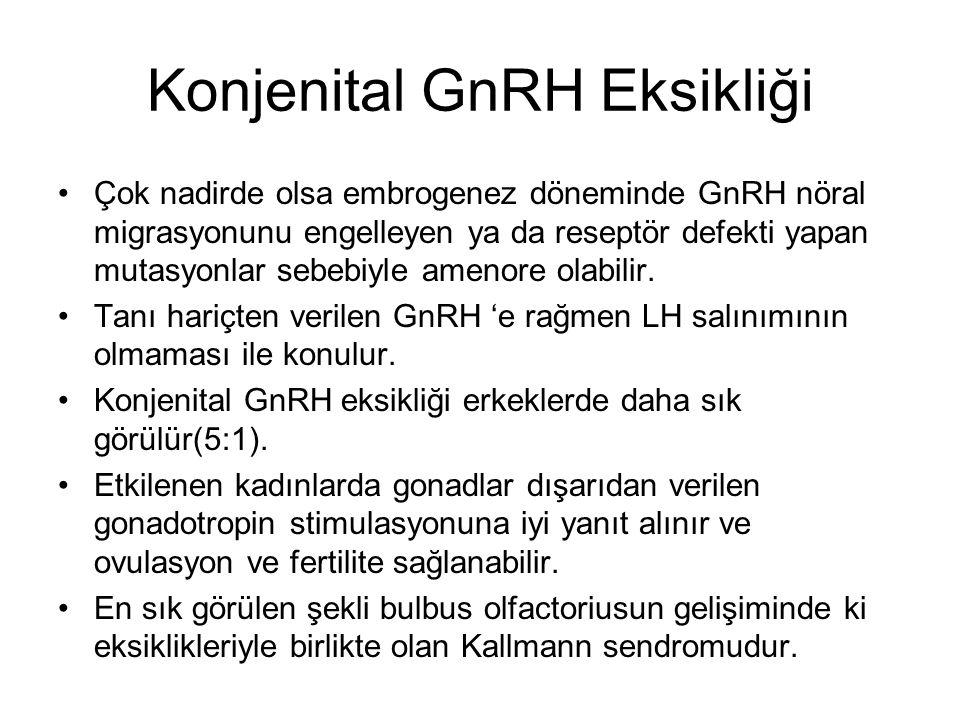 Konjenital GnRH Eksikliği