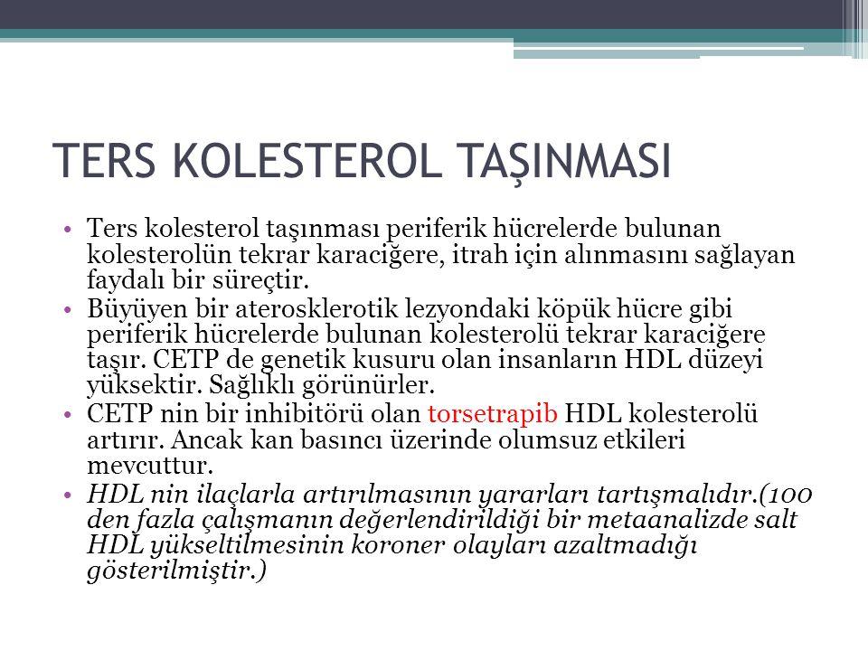 TERS KOLESTEROL TAŞINMASI