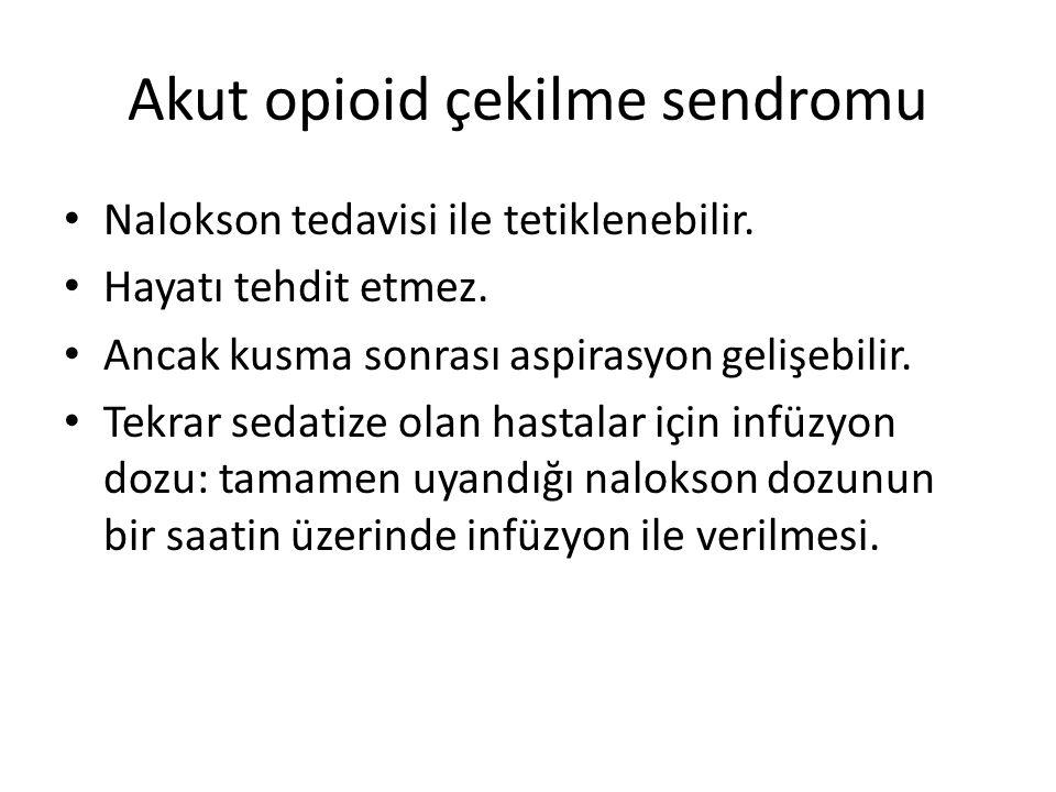 Akut opioid çekilme sendromu