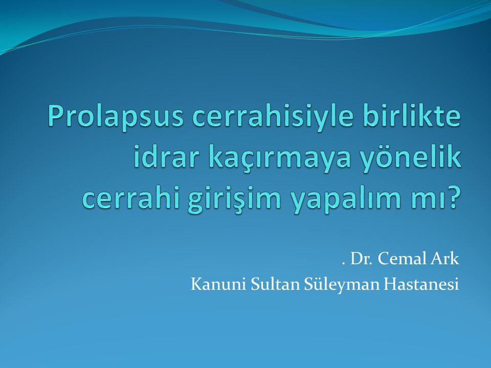 . Dr. Cemal Ark Kanuni Sultan Süleyman Hastanesi
