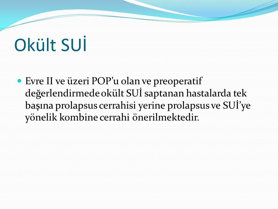 Okült SUİ