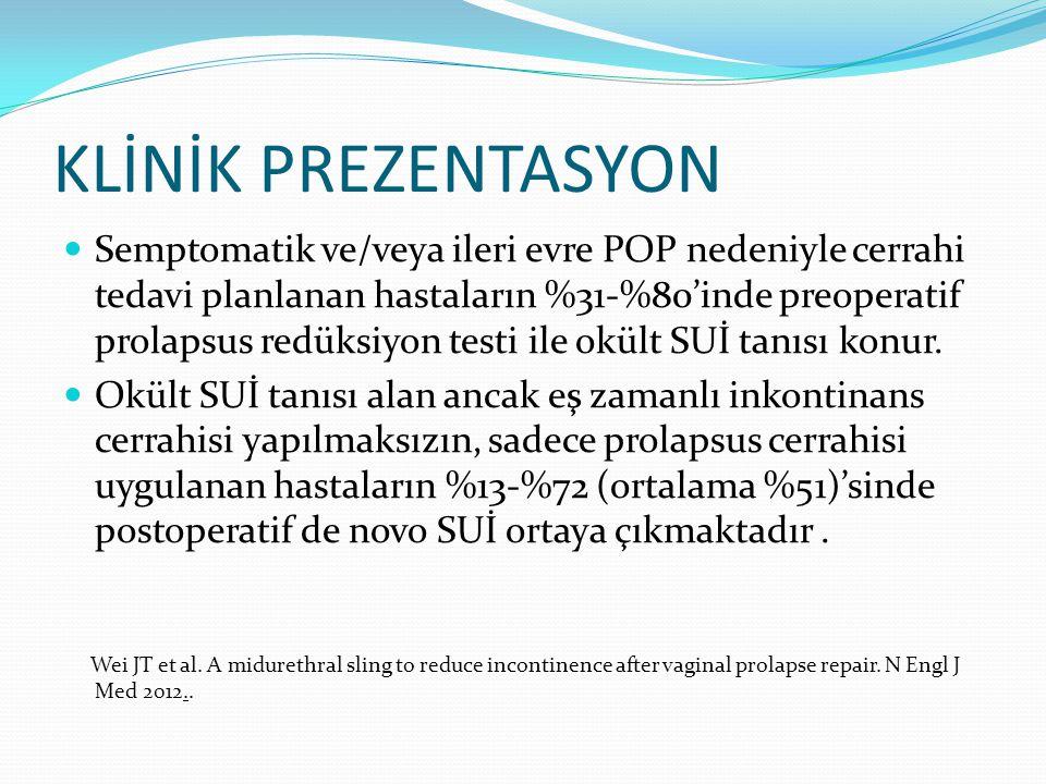 KLİNİK PREZENTASYON