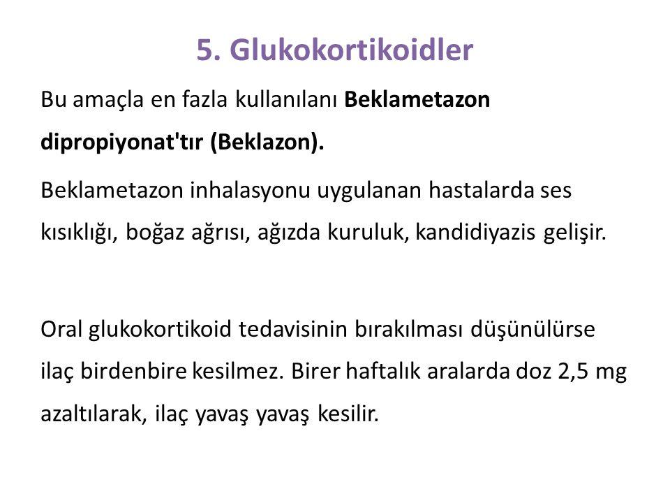 5. Glukokortikoidler