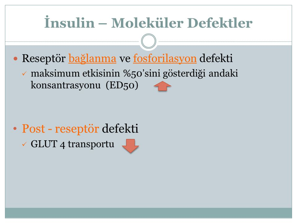 İnsulin – Moleküler Defektler