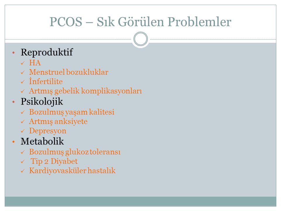 PCOS – Sık Görülen Problemler