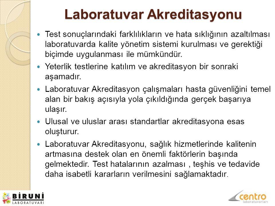 Laboratuvar Akreditasyonu