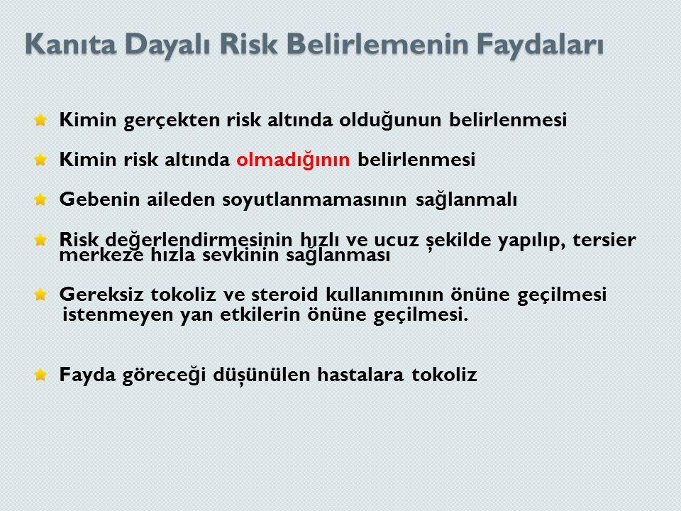 Kanıta Dayalı Risk Belirlemenin Faydaları