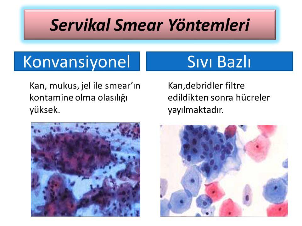 Servikal Smear Yöntemleri
