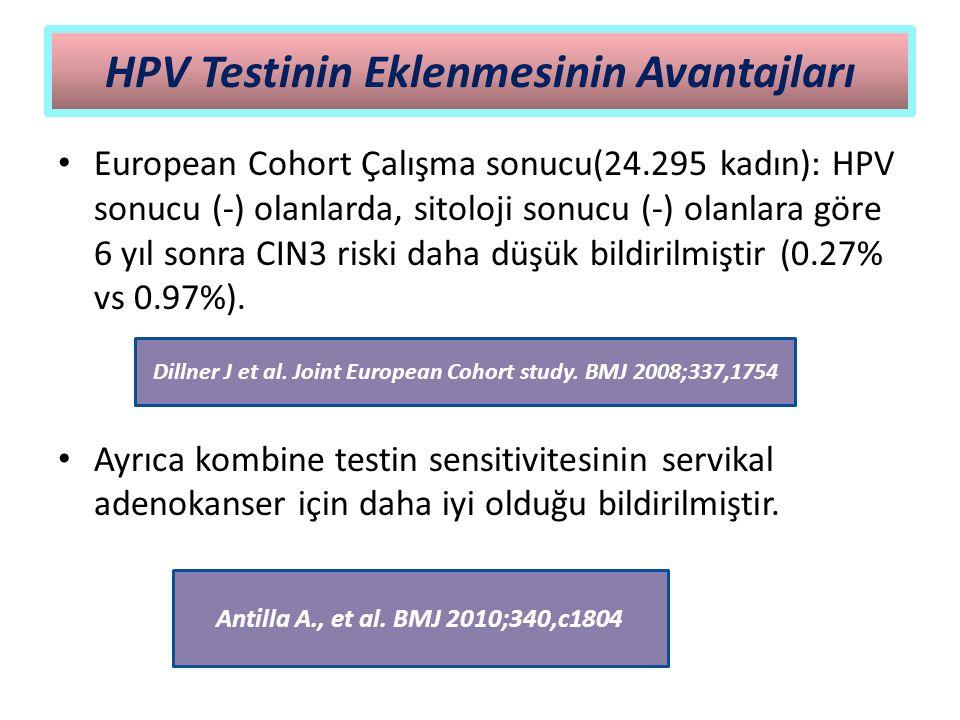 HPV Testinin Eklenmesinin Avantajları