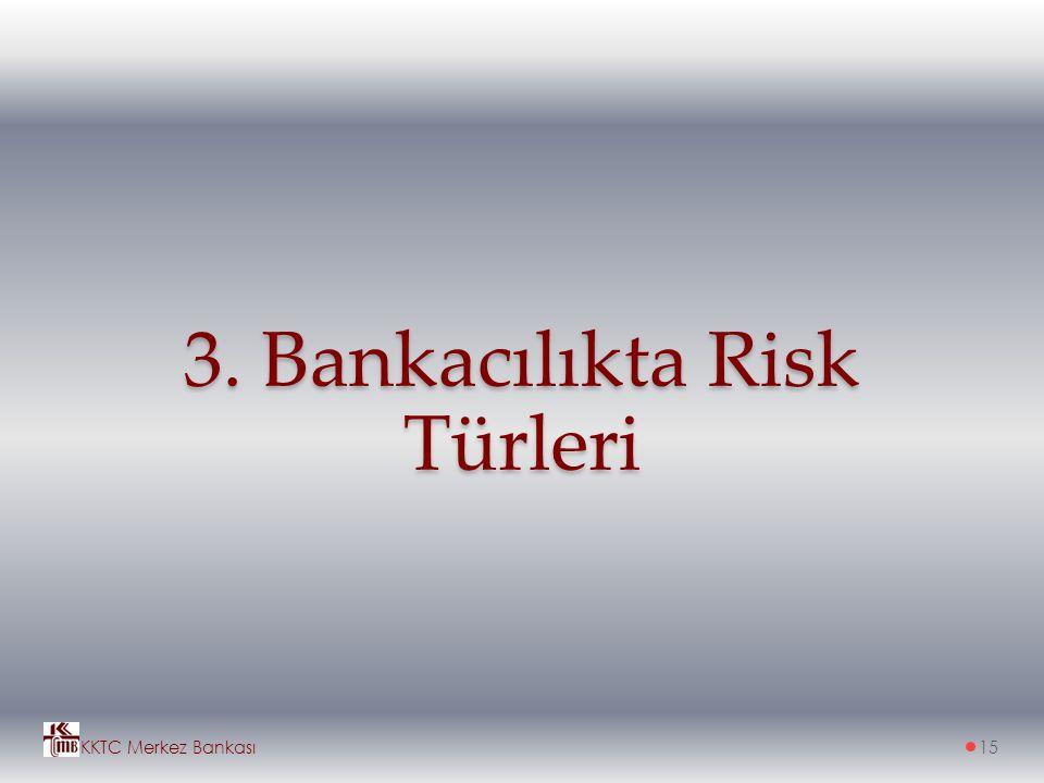 3. Bankacılıkta Risk Türleri