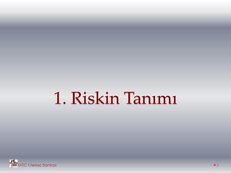 1. Riskin Tanımı KKTC Merkez Bankası