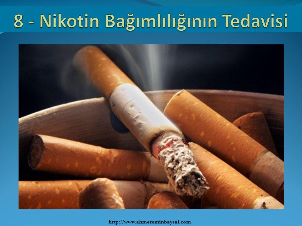 8 - Nikotin Bağımlılığının Tedavisi