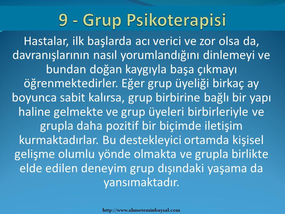 9 - Grup Psikoterapisi