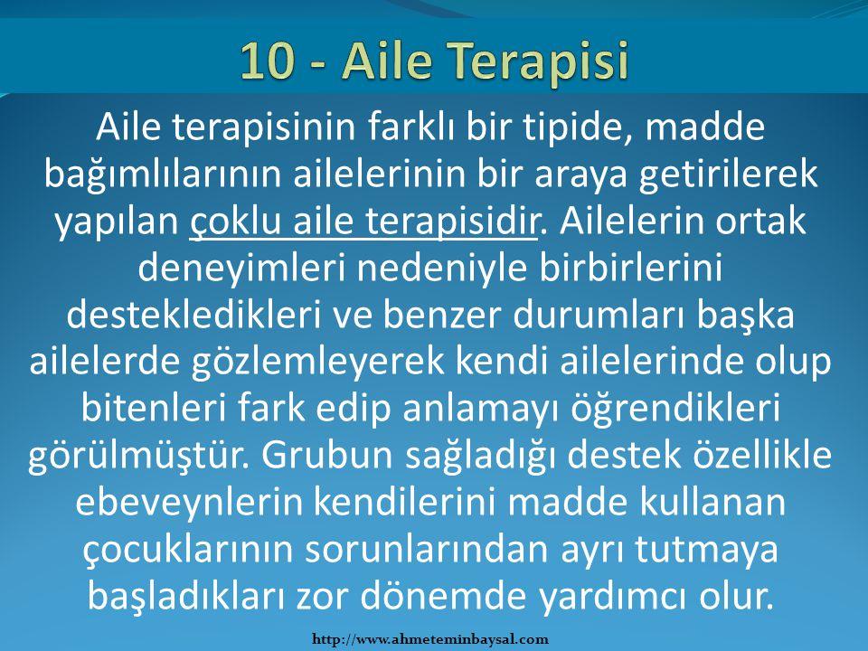 10 - Aile Terapisi