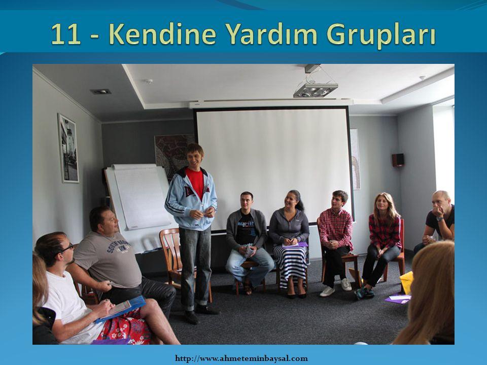 11 - Kendine Yardım Grupları