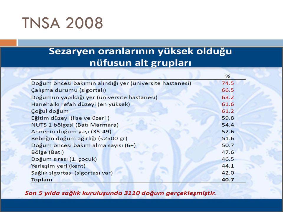 TNSA 2008