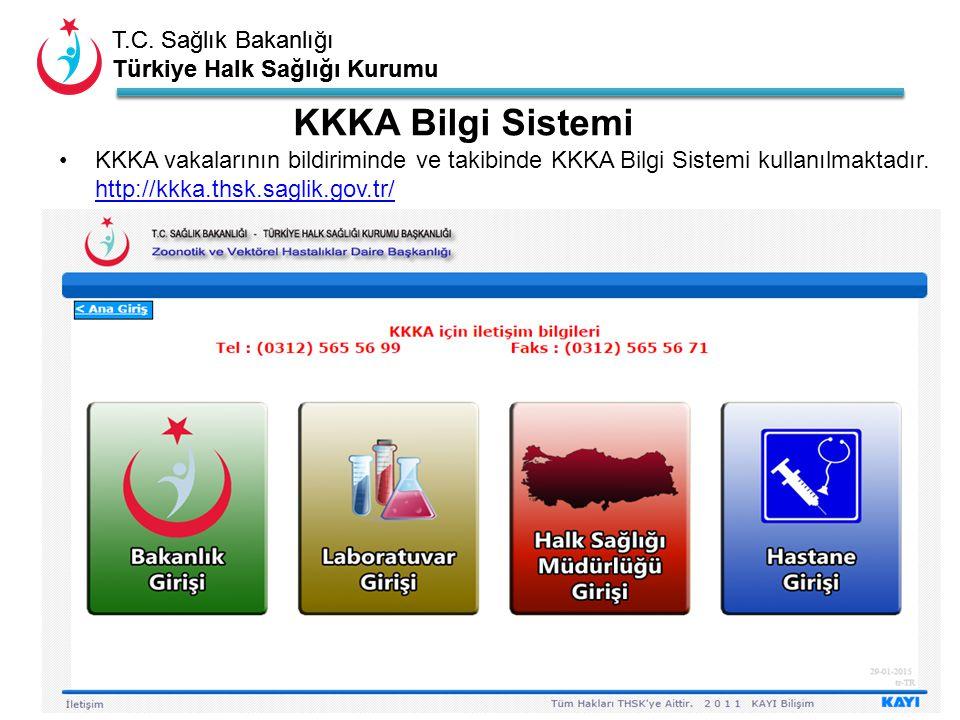 KKKA Bilgi Sistemi KKKA vakalarının bildiriminde ve takibinde KKKA Bilgi Sistemi kullanılmaktadır.