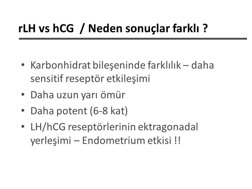 rLH vs hCG / Neden sonuçlar farklı