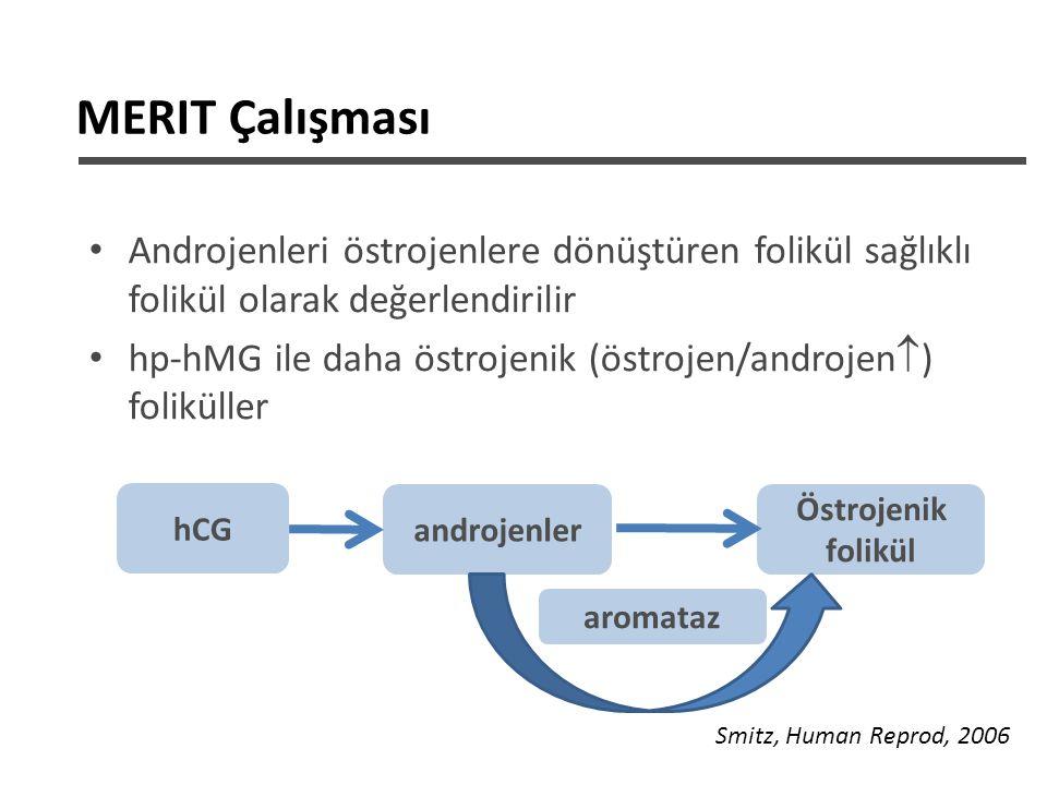 MERIT Çalışması Androjenleri östrojenlere dönüştüren folikül sağlıklı folikül olarak değerlendirilir.