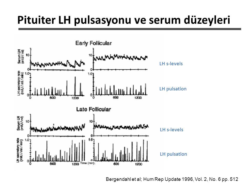 Pituiter LH pulsasyonu ve serum düzeyleri