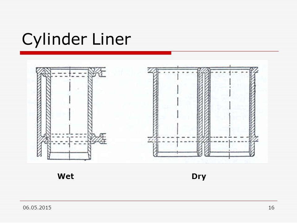 Cylinder Liner Wet Dry 15.04.2017